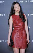SoHee of Wonder Girls poses for photographs during the Boontheshop Cheongdam Store opening event at Cheongdamdong on October 17 2014 in Seoul South...