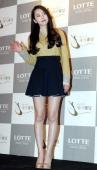 SoHee of Wondergirls attends Sun's Wedding at lotte hotel on January 26 2013 in Seoul South Korea