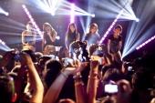 Sohee Yenny Yubin Lim and Sun of Wonder Girls perform onstage at iHeartRadio Presents Wonder Girls at iHeartRadio Performance Theater on September 5...