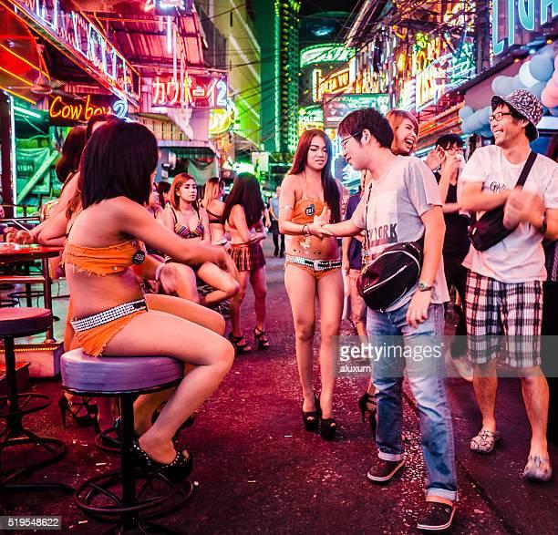 Soi Cowboy-Rotlichtviertel Bangkok, Thailand