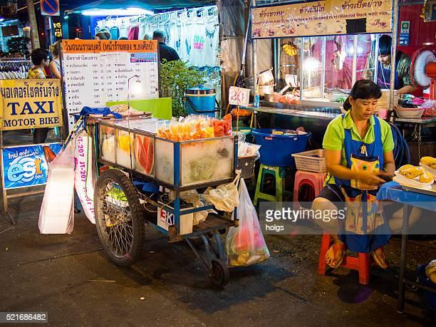 Soi Rambuttri in Bangkok, Thailand