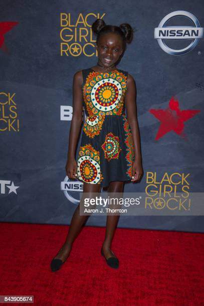 Sokhna Diallo attends Black Girls Rock at New Jersey Performing Arts Center on August 5 2017 in Newark New Jersey