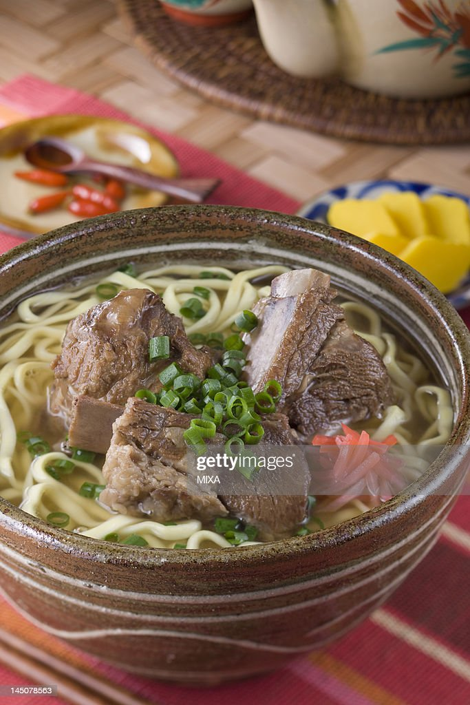 Soki Soba : Stock Photo