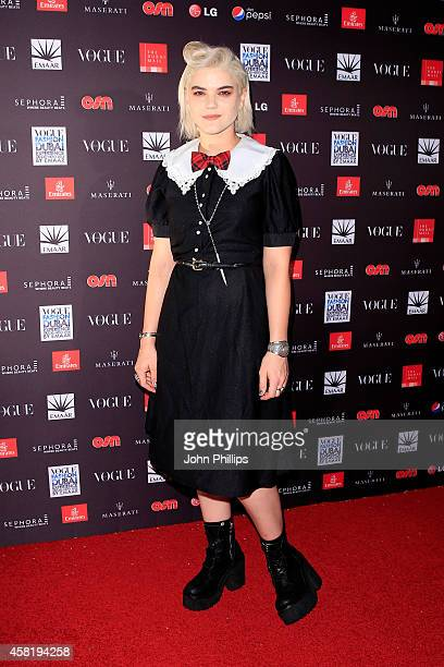 Soko attends the Gala Event during the Vogue Fashion Dubai Experience on October 31 2014 in Dubai United Arab Emirates