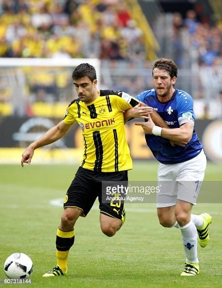 Borussia Dortmund And Sv Darmstadt 98 Bundesliga