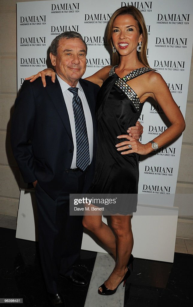 Sol and Heather Kerzner attend the Damiani Jewellery party at The Connaught Hotel on February 3 2010 in London England