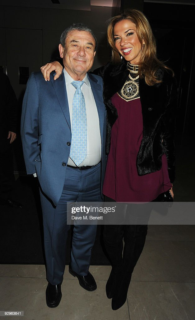 Sol and Heather Kerzner attend the London Evening Standard Influentials Party at Burberry on November 10 2009 in London England