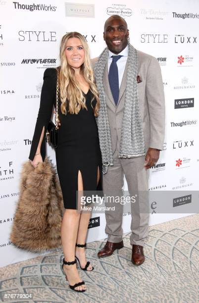 Sol Campbell attends the Walpole British Luxury Awards on November 20 2017 in London England