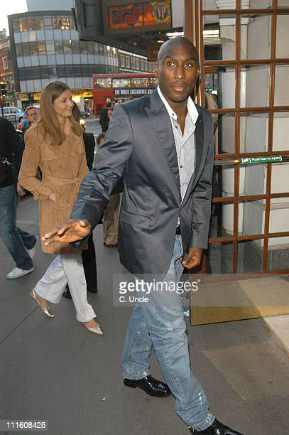 Sol Campbell during 'Billy Elliot The Musical' GAP Gala Night at Victoria Palace Theatre in London Great Britain