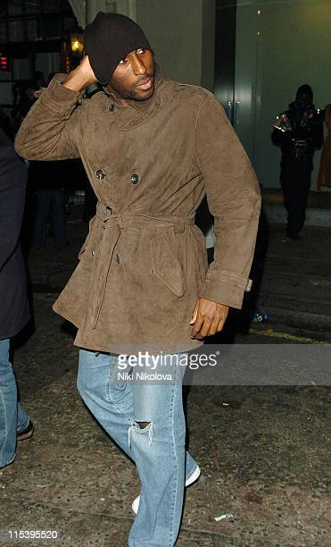 Sol Campbell during Sol Campbell Sighting at Nobu in London November 19 2005 at Nobu Restaurant in London Great Britain