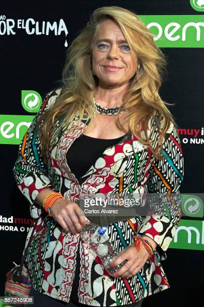 Sol de la Cuadra Salcedo attends 'An Inconvenient Sequel Truth to Power' premiere at the Callao cinema on October 3 2017 in Madrid Spain