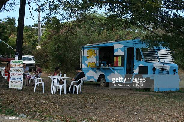 Sol Food#x2019s empanadas and pastillos are popular with locals and visitors alike The truck is often parked near the entrance of the National...