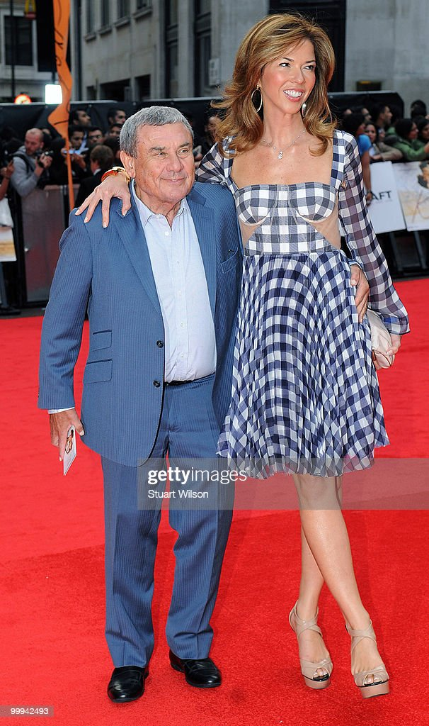 Sol Kerzner and Heather Kerzner attend the European Premiere of 'Kites' at Odeon West End on May 18 2010 in London England