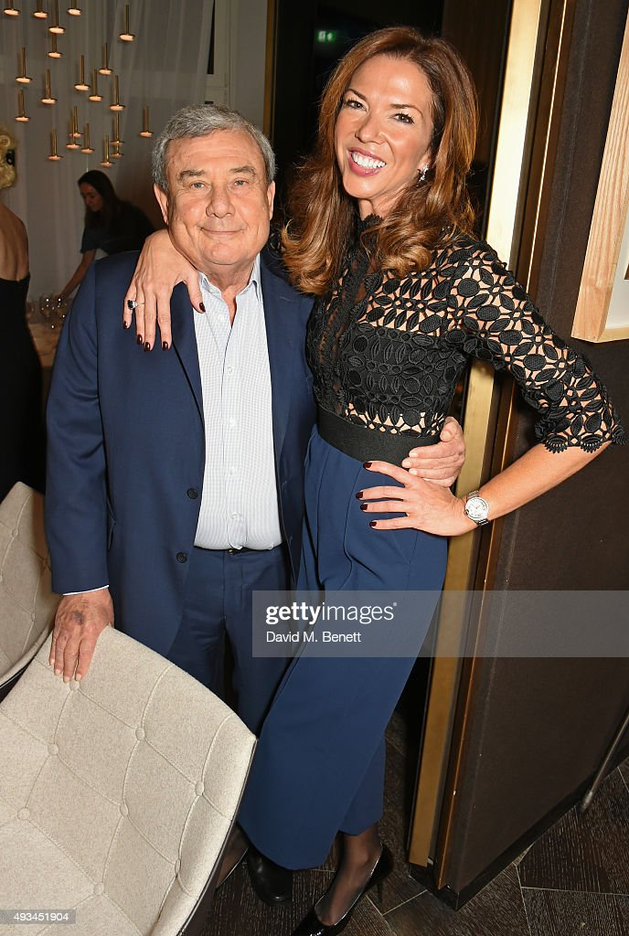 Sol Kerzner and Heather Kerzner attend the opening dinner for 12 Hay Hill hosted by 12 Hay Hill CEO Heather Kerzner and Jeanette Calliva on October...