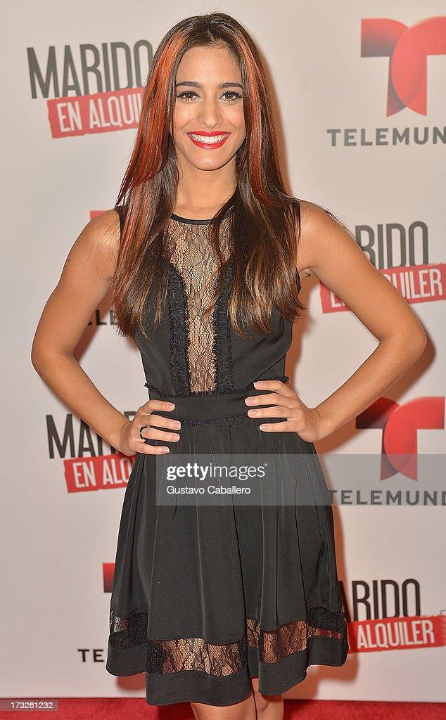 Sol Rodriguez attends Telemundos 'Marido en Alquiler' Presentation on July 10, 2013 in Miami, Florida.