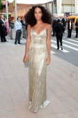 Solange attends the 2014 CFDA fashion awards at Alice Tully Hall Lincoln Center on June 2 2014 in New York City