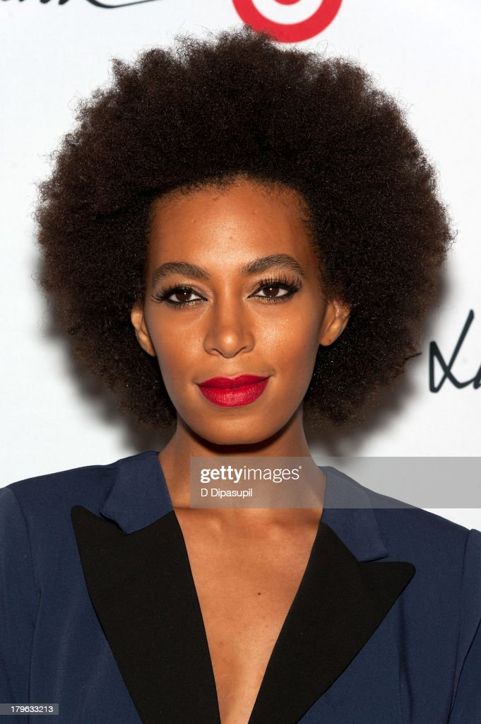 Solange attends the 3.1 Phillip Lim for Target Launch Event at Spring Studio on September 5, 2013 in New York City.