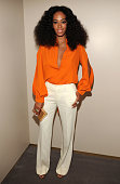 Solange attends the CHIME FOR CHANGE OneYear Anniversary Event hosted by Gucci Creative Director Frida Giannini and T Magazine EditorInChief Deborah...