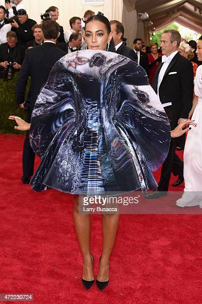 Solange attends the 'China Through The Looking Glass' Costume Institute Benefit Gala at the Metropolitan Museum of Art on May 4 2015 in New York City