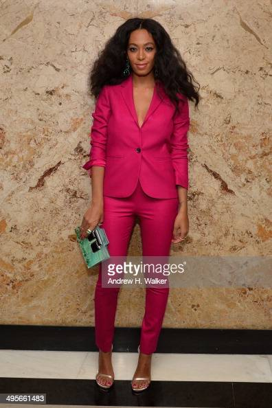 Solange attends the Gucci beauty launch event hosted by Frida Giannini on June 4 2014 in New York City