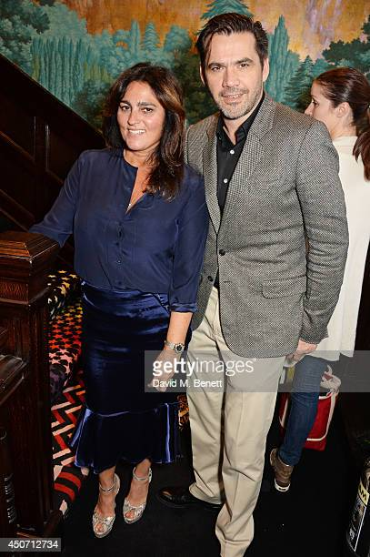 Solange AzaguryPartridge and Roland Mouret attend the Solange Azagury Partridge presentation of her first menswear jewellery collection 'ALPHA'...