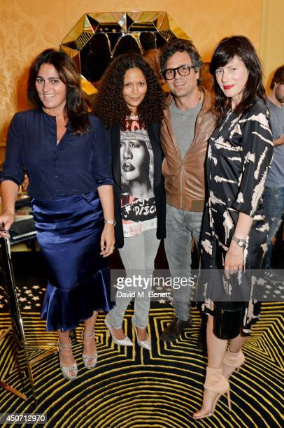 Solange AzaguryPartridge Thandie Newton Mark Ruffalo and Sunrise Coigney attend the Solange Azagury Partridge presentation of her first menswear...