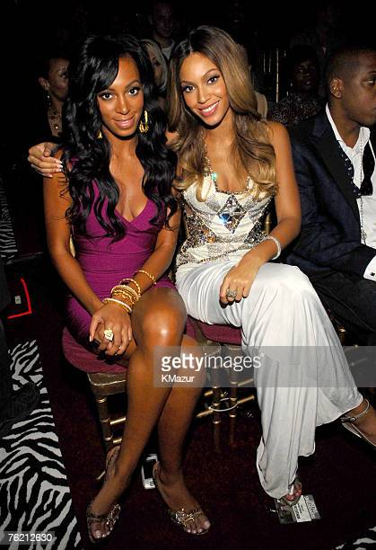 Solange Knowles and Beyonce
