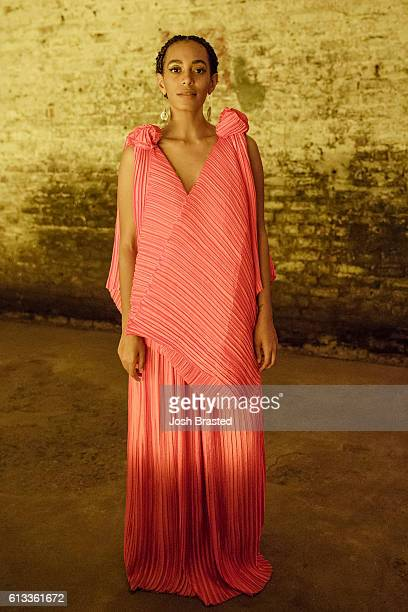 Solange Knowles attends 'A Seat At The Table' a listening event for Solange's new album at Saint Heron House on October 7 2016 in New Orleans...