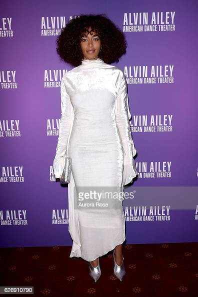 Solange Knowles attends Alvin Ailey American Dance Theater Opening Night Gala Benefit 'An Evening of Ailey and Jazz' at New York City Center on...