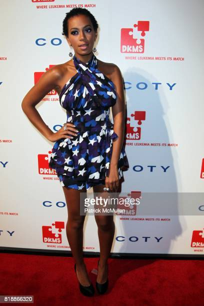 Solange Knowles attends DKMS' 4th Annual Gala' LINKED AGAINST LEUKEMIA at Cipriani's 42nd St on April 29 2010 in New York City