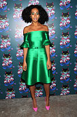 Solange Knowles attends Miu Miu Women's Tales 7th Edition 'Spark Light' Screening Arrivals at Diamond Horseshoe on February 11 2014 in New York City