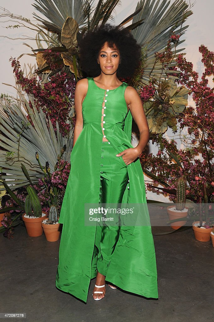 Solange Knowles attends Pioneer Works 2nd Annual Village Fete presented by BOMBAY SAPPHIRE GIN at Pioneer Works Center for Art Innovation on May 3...