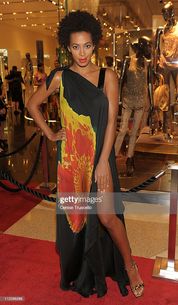 Solange Knowles attends Roberto Cavalli's 'Black Is Never Absolute' photo exhibit in the Roberto Cavalli store at Crystals at CityCenter on April 15, 2011 in Las Vegas, Nevada.Ê
