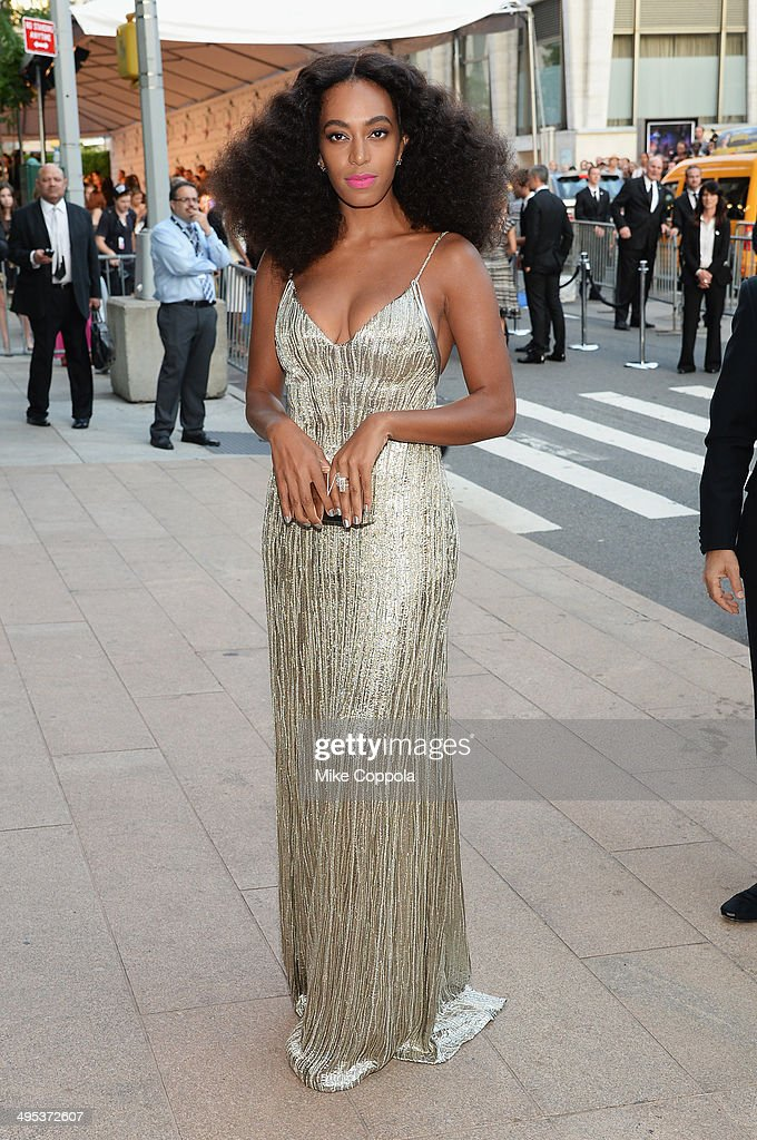 Solange Knowles attends the 2014 CFDA fashion awards at Alice Tully Hall Lincoln Center on June 2 2014 in New York City