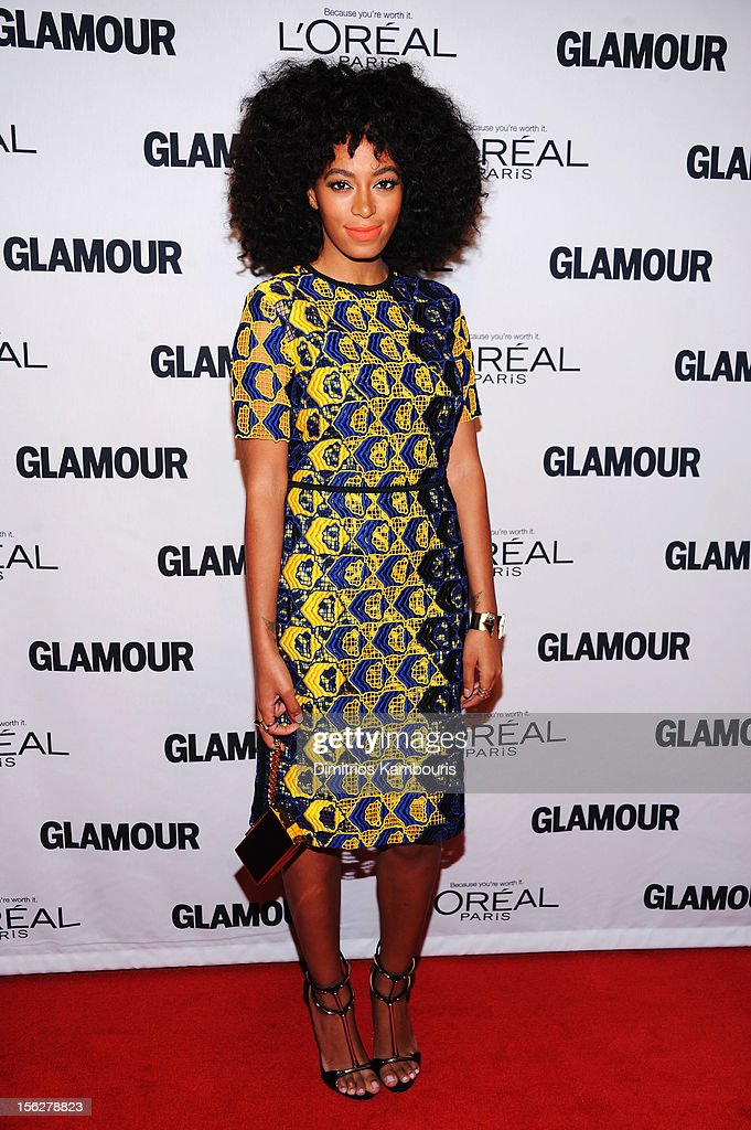 <a gi-track='captionPersonalityLinkClicked' href=/galleries/search?phrase=Solange+Knowles&family=editorial&specificpeople=221489 ng-click='$event.stopPropagation()'>Solange Knowles</a> attends the 22nd annual Glamour Women of the Year Awards at Carnegie Hall on November 12, 2012 in New York City.