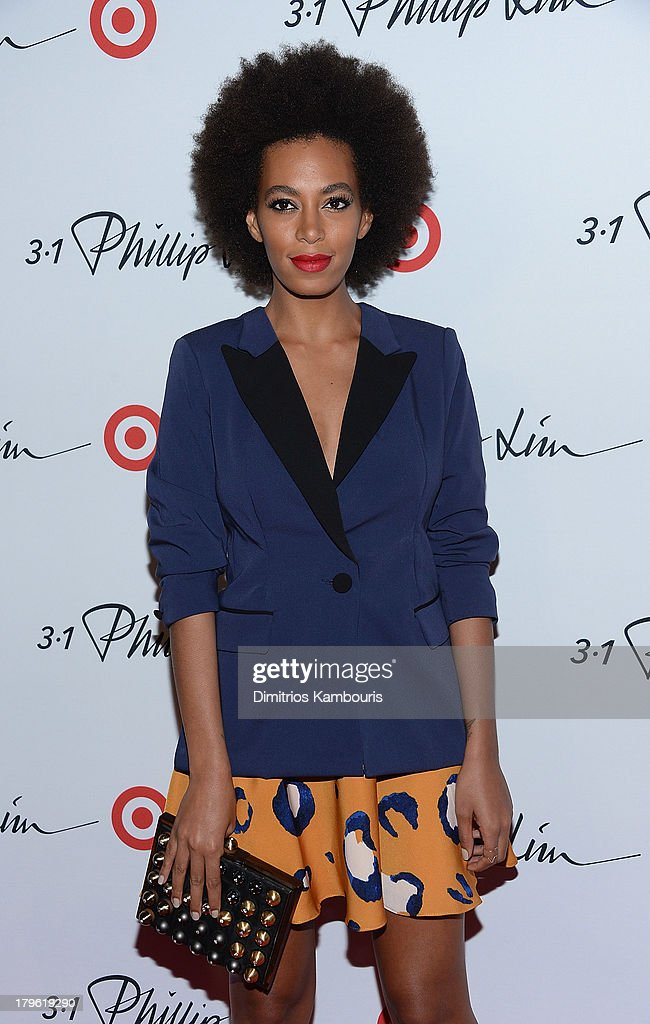 <a gi-track='captionPersonalityLinkClicked' href=/galleries/search?phrase=Solange+Knowles&family=editorial&specificpeople=221489 ng-click='$event.stopPropagation()'>Solange Knowles</a> attends the 3.1 Phillip Lim for Target Launch Event at Spring Studio on September 5, 2013 in New York City.