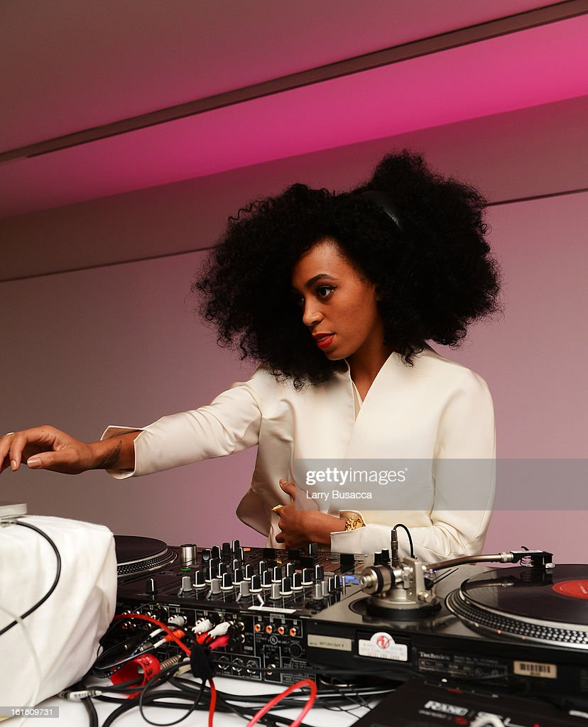 Solange Knowles attends the after party following the premiere of the HBO Documentary Film 'Beyonce: Life Is But A Dream' at Christie's on February 12, 2013 in New York City.