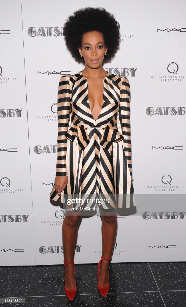 Solange Knowles attends 'The Great Gatsby' Special Screening at the Museum of Modern Art on May 5, 2013 in New York City.