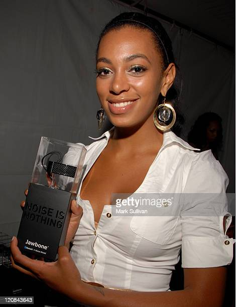 Solange Knowles during 2007 BET Awards Backstage Creations Talent Retreat Day 3 at Shrine Auditorium in Los Angeles California United States