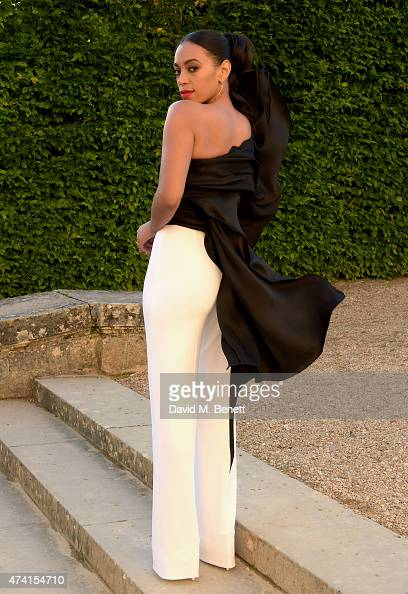 Solange Knowles is pictured at Martell Cognac 300th anniversary event at the iconic Palace of Versailles on May 20 2015 in Versailles France