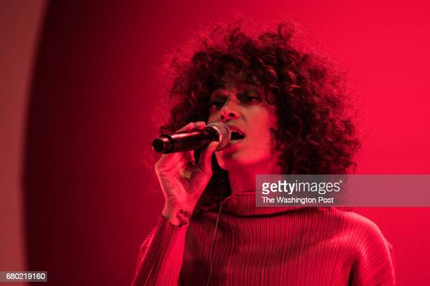 Solange Knowles performs at Broccoli City Festival on Saturday