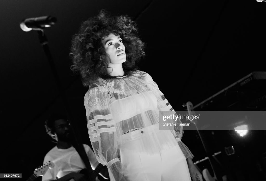 Solange Knowles performs at Christian Dior Cruise 2018 Show and After Party at Gladstone's Malibu on May 11, 2017 in Malibu, California.