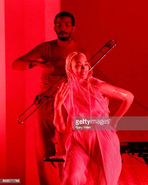 Solange Knowles performs in concert on the first day of week one of the Austin City Limits Music Festival at Zilker Park on October 6 2017 in Austin...
