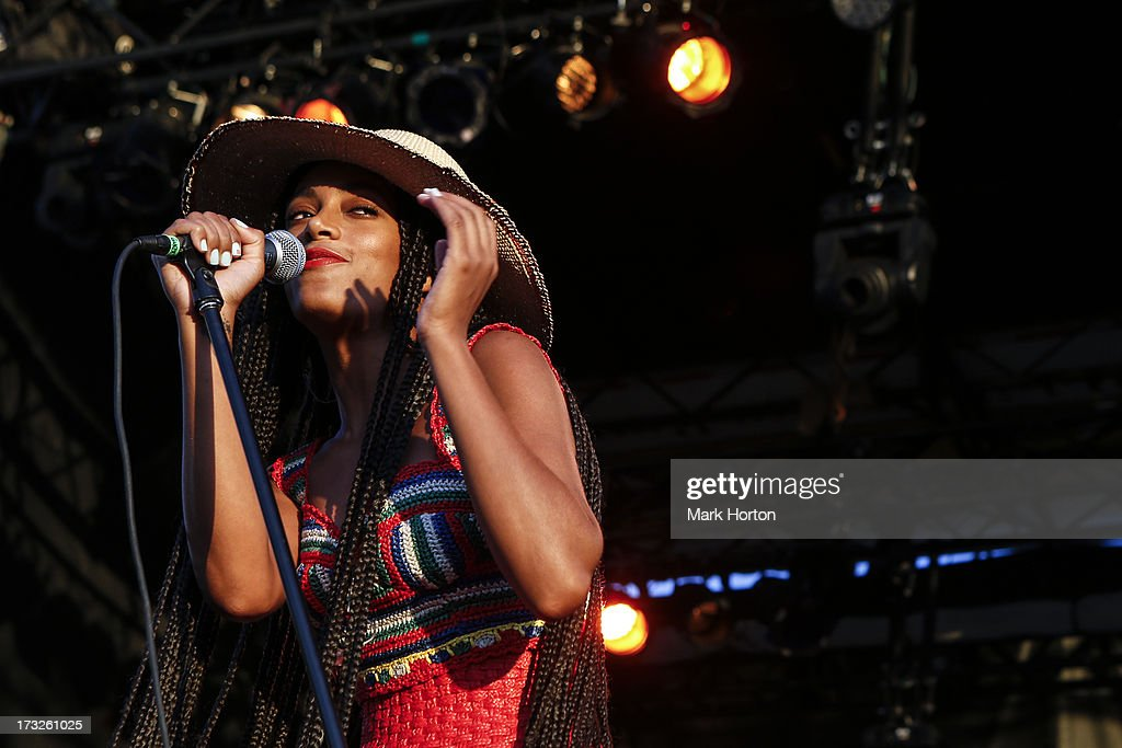 Solange Knowles performs on Day 7 of the RBC Royal Bank Bluesfest on July 10, 2013 in Ottawa, Canada.
