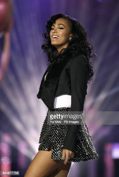 Solange Knowles performs on stage at the 2008 World Music Awards at the Sporting Club Monte Carlo