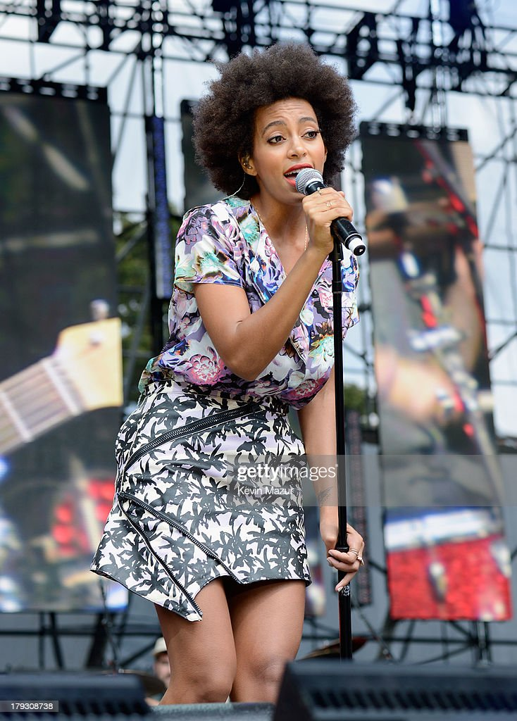 Solange performs during the 2013 Budweiser Made In America Festival at Benjamin Franklin Parkway on September 1, 2013 in Philadelphia, Pennsylvania.