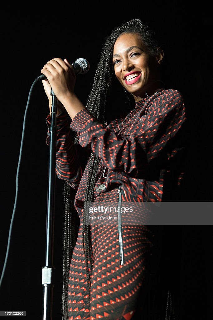 Solange performs during the 2013 Essence Festival at the MercedesBenz Superdome on July 6 2013 in New Orleans Louisiana