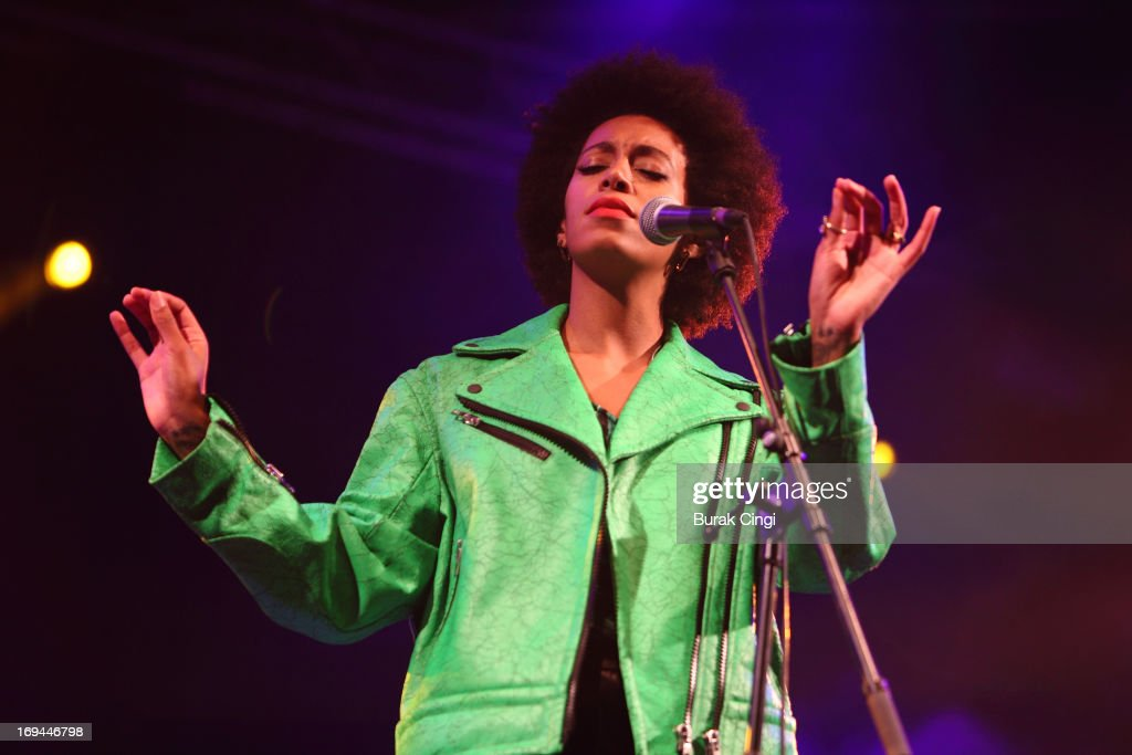 Solange performs on stage on Day 3 of Primavera Sound Festival on May 24, 2013 in Barcelona, Spain.
