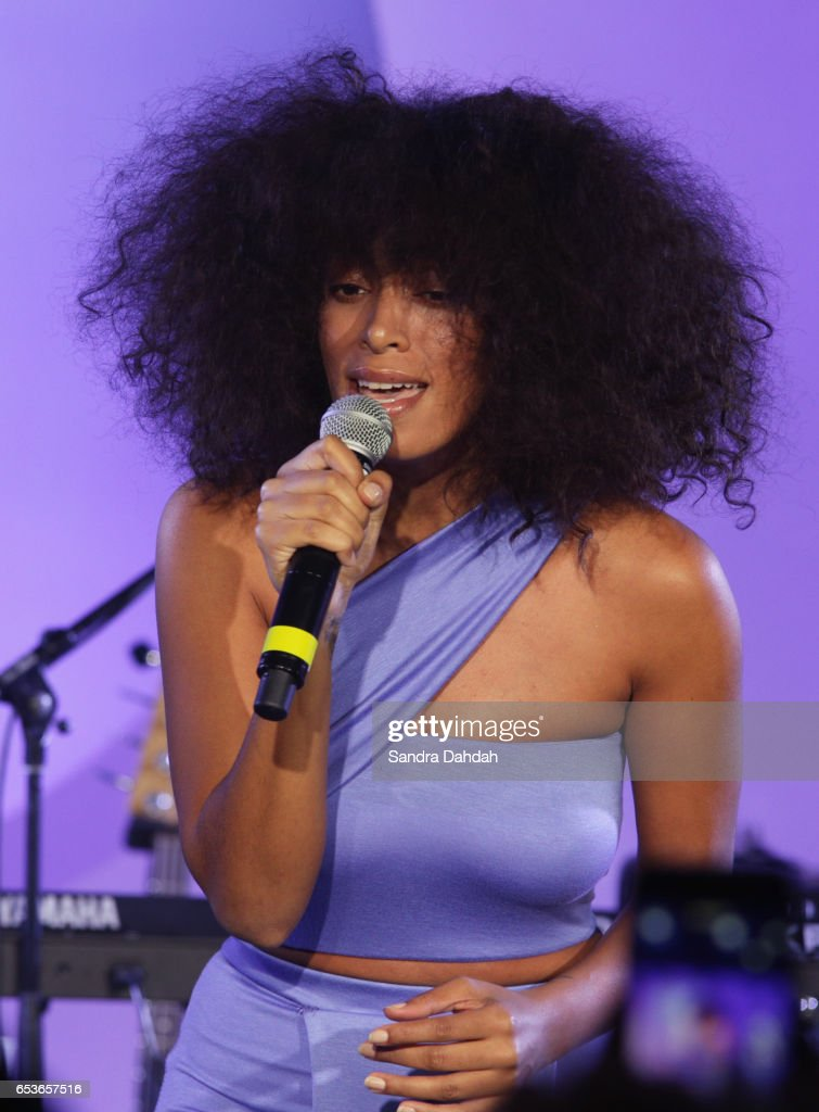 Solange performs onstage at the YouTube music showcase during 2017 SXSW Conference and Festivals on March 15, 2017 in Austin, Texas.