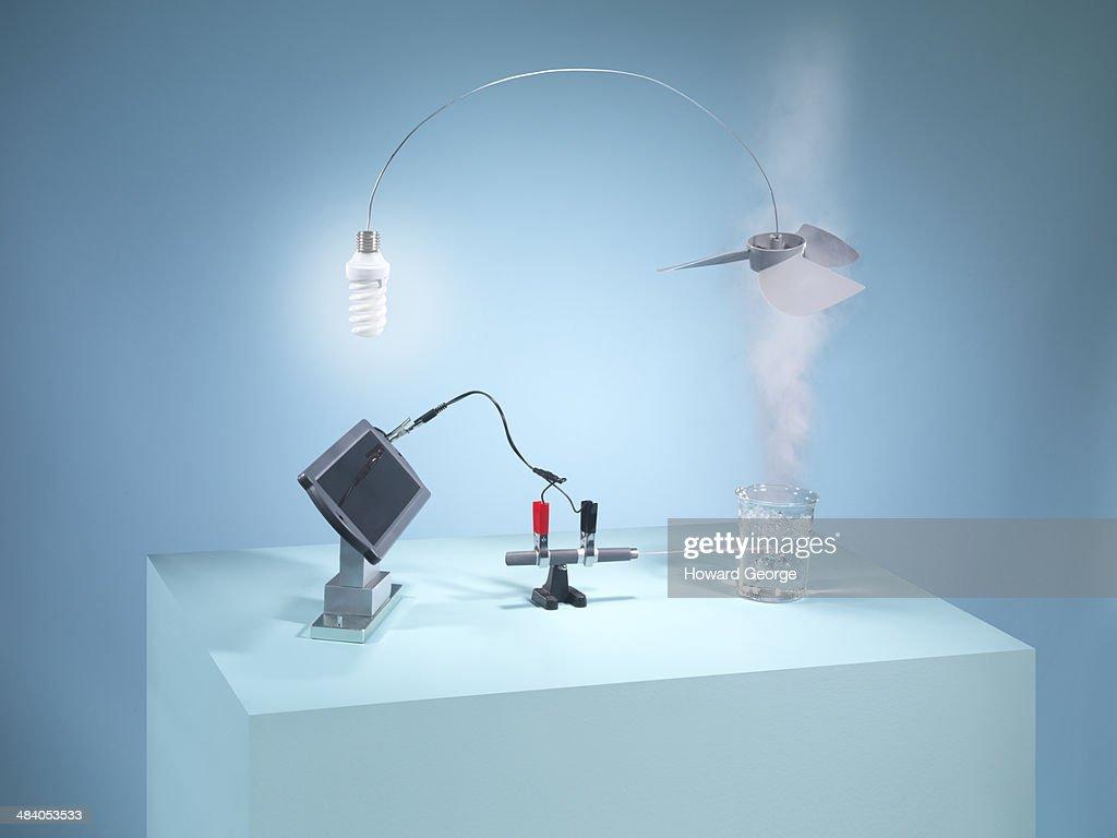 Solar and Steam Energy